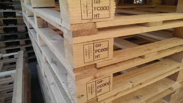 ISPM 15 Stamped Pallet